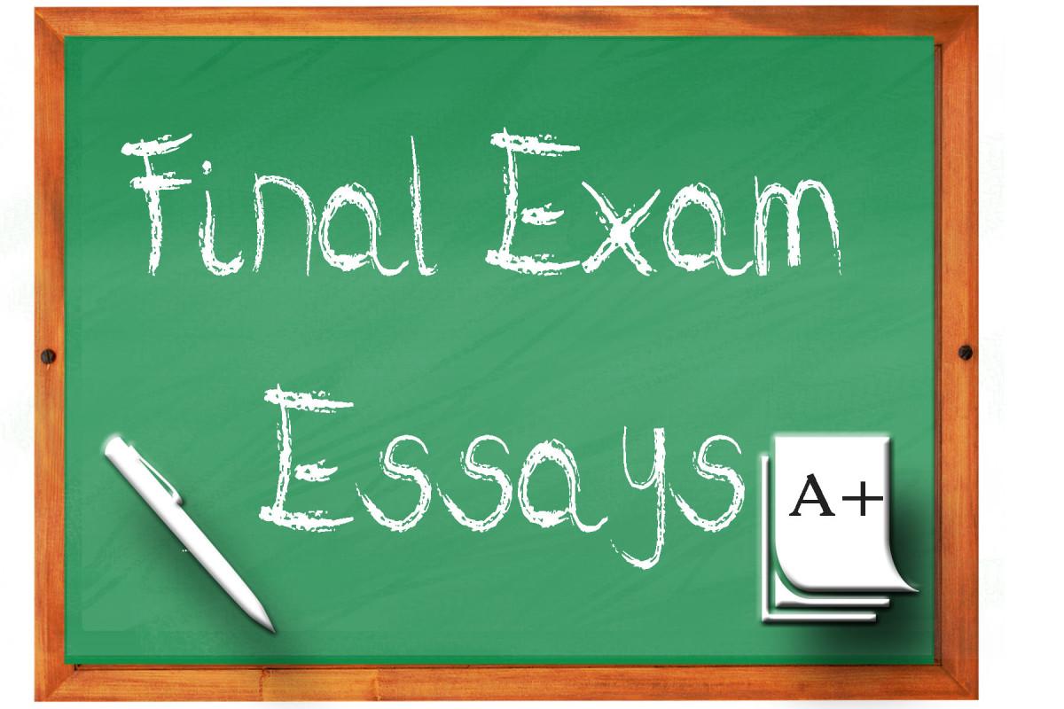 Exams essays