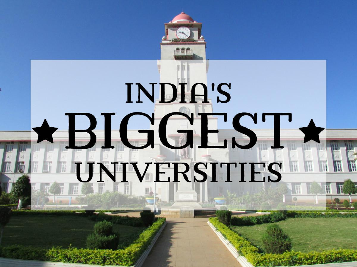 Top 10 Largest Universities in India