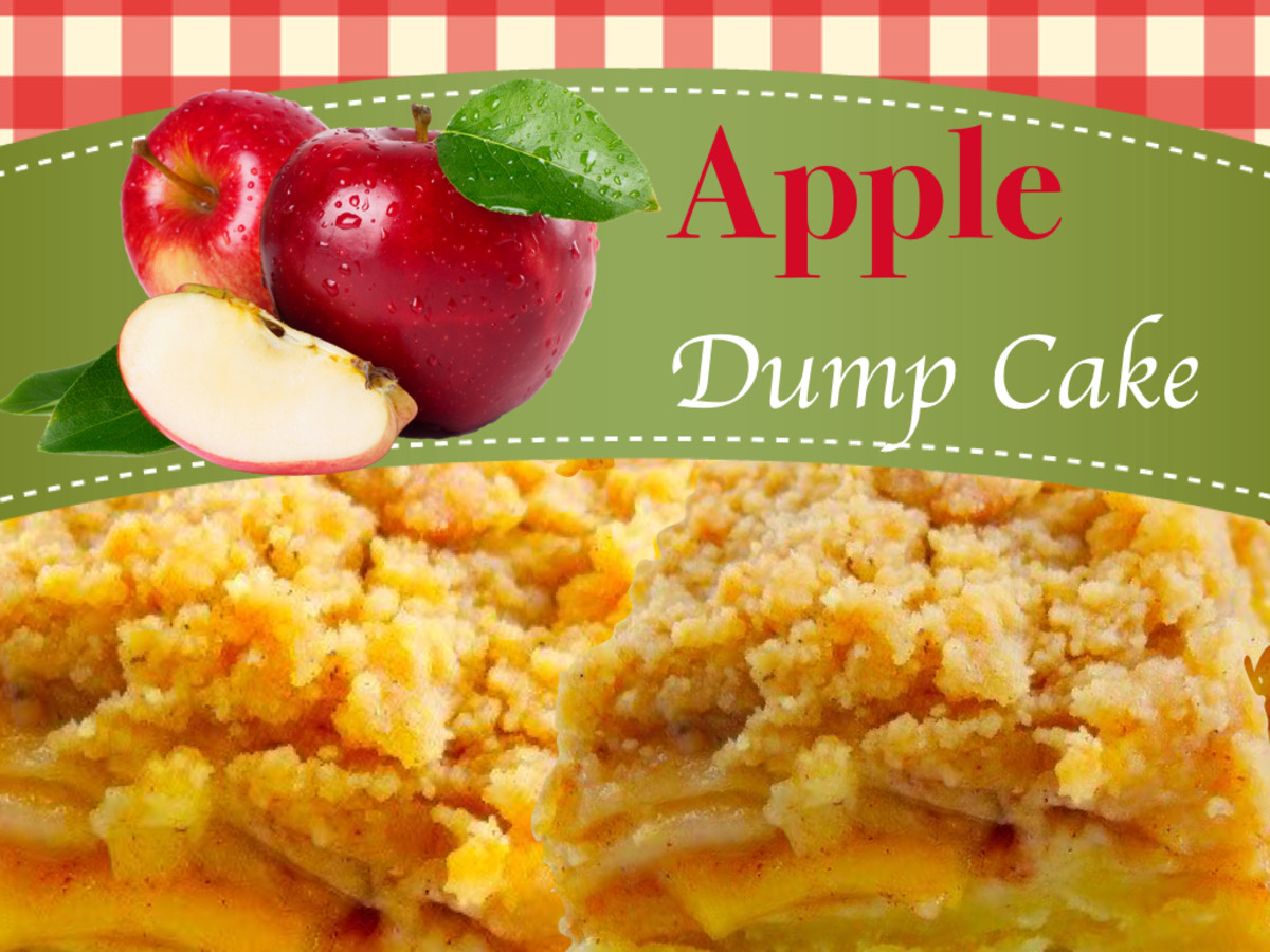 Easy apple dump cake recipe