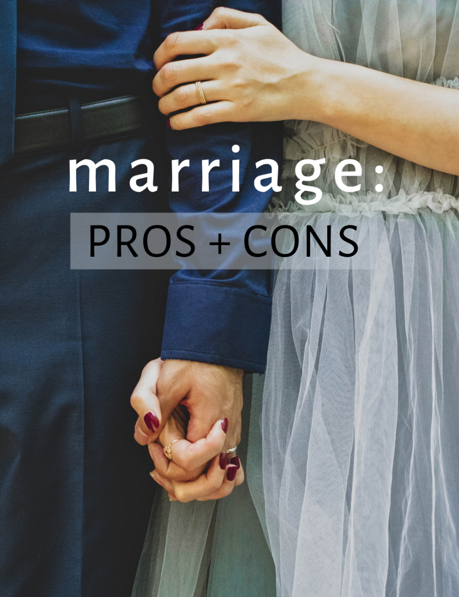 """Here are the advantages and disadvantages of getting married... or """"tying the knot."""""""
