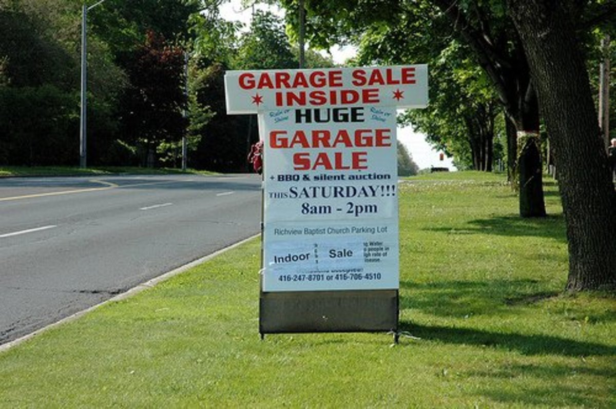 How to Profit from a Garage Sale or Yard Sale