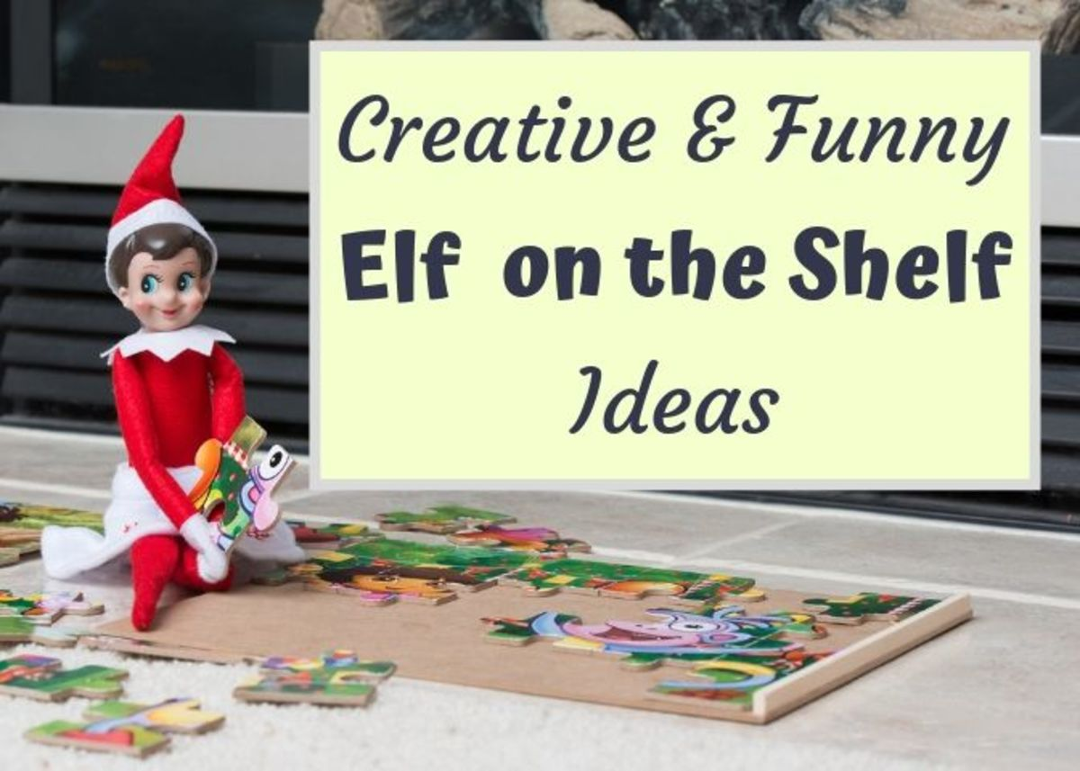 Entertain your kids with some new places for your Elf on the Shelf to hide!
