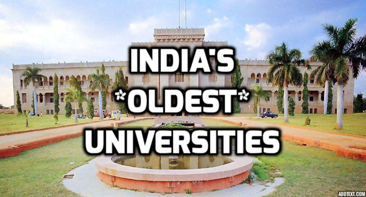Top 20 Most Oldest Universities of India