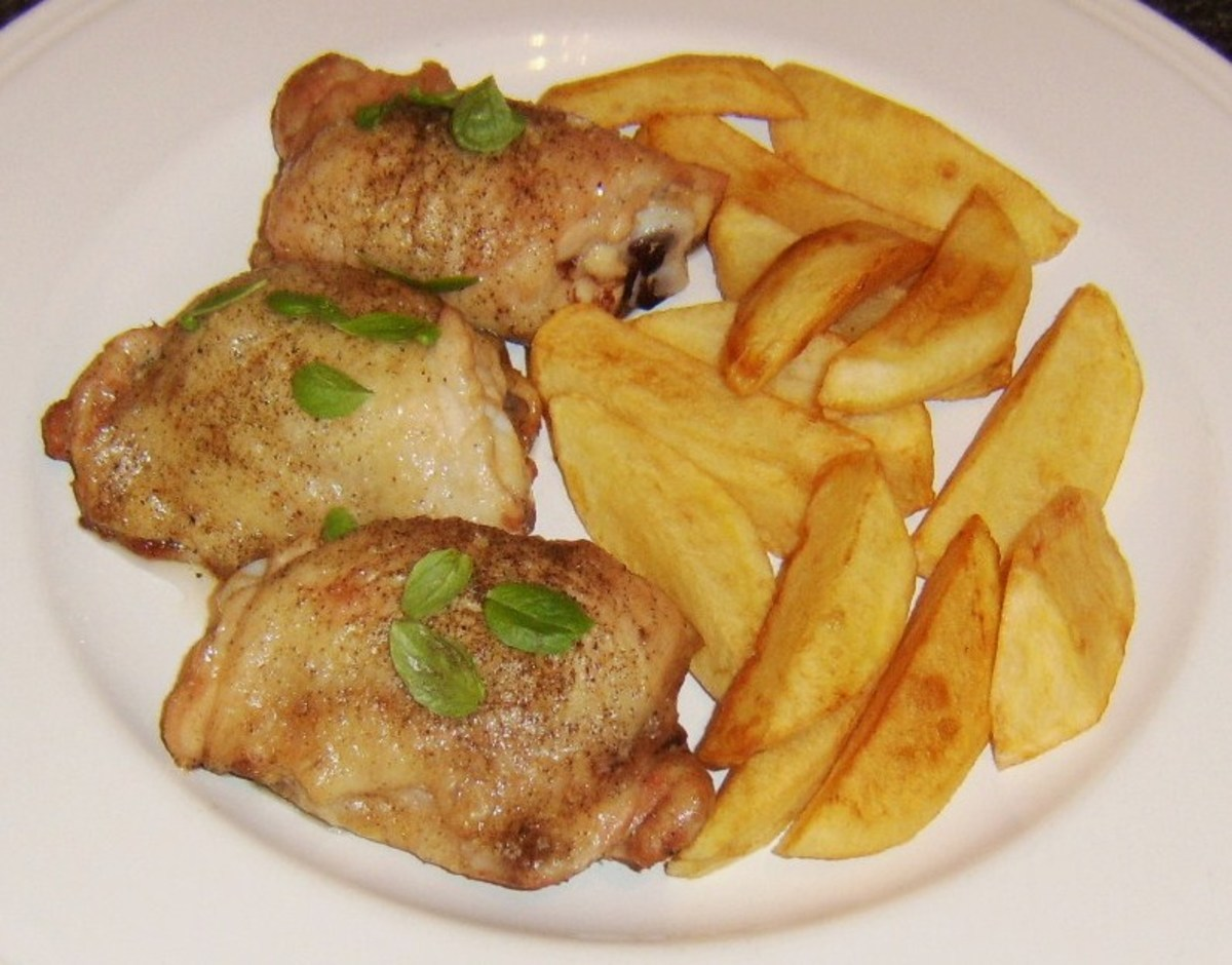 Chicken Thigh Recipes and Cooking Tips