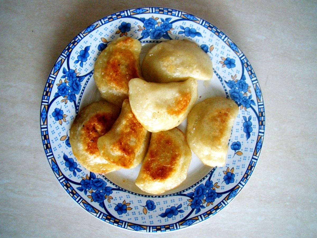 My Mother's Cooking: Pierogi Filled With Cottage Cheese and Chives