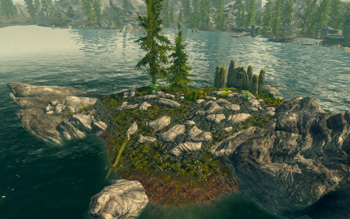 """The Elder Scrolls V: Skyrim"" The Lady Stone - Standing Stone Primary Location -"