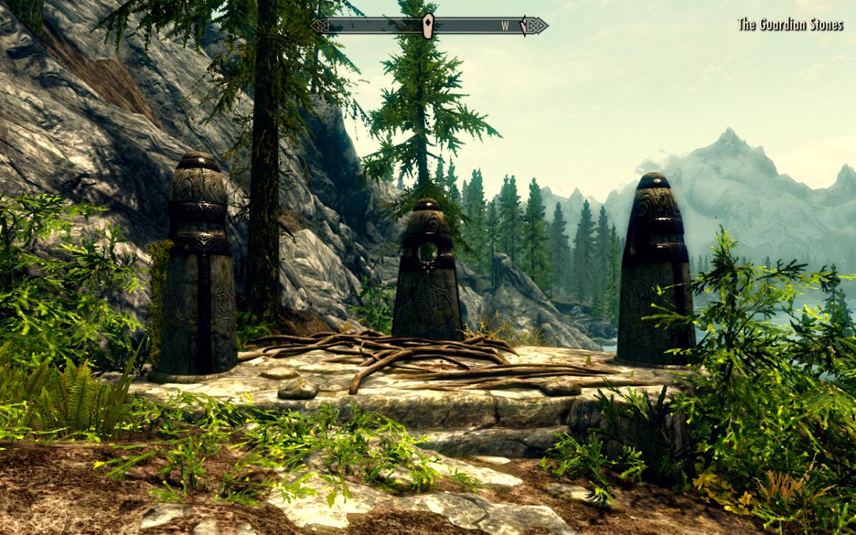 "The Guardian Stones - Primary Location Guide - ""The Elder Scrolls V: Skyrim"""