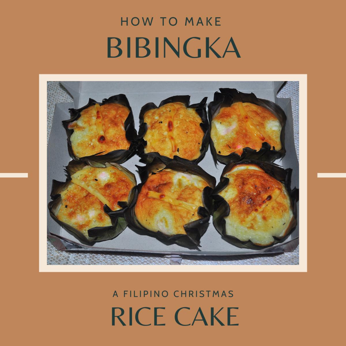 Easy Filipino Bibingka (Rice Cake) Recipe for Christmas