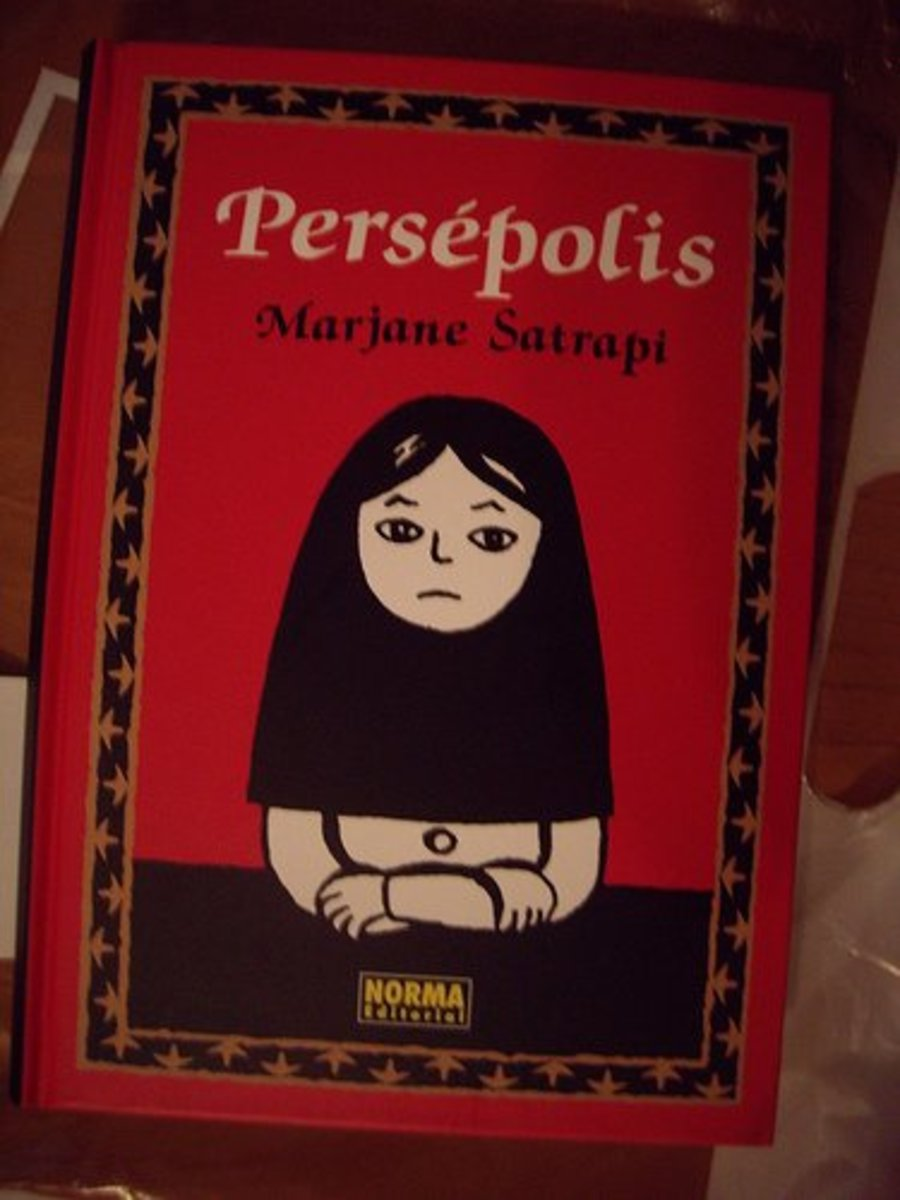 Persepolis the graphic novel by Marjane Satrapi.