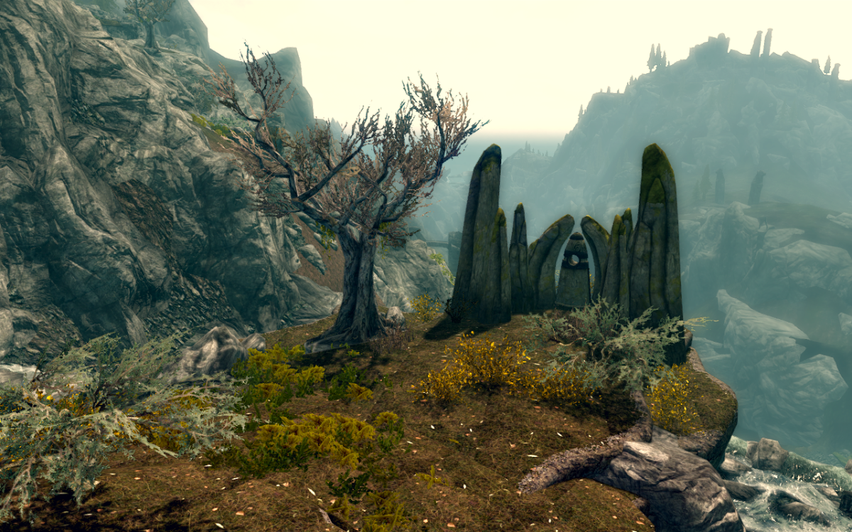 The Lover Stone - Standing Stone Primary Location - The Elder Scrolls V: Skyrim