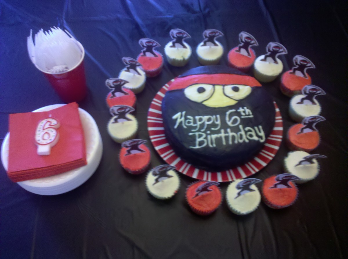 Kid's Ninja Themed Birthday Party Ideas