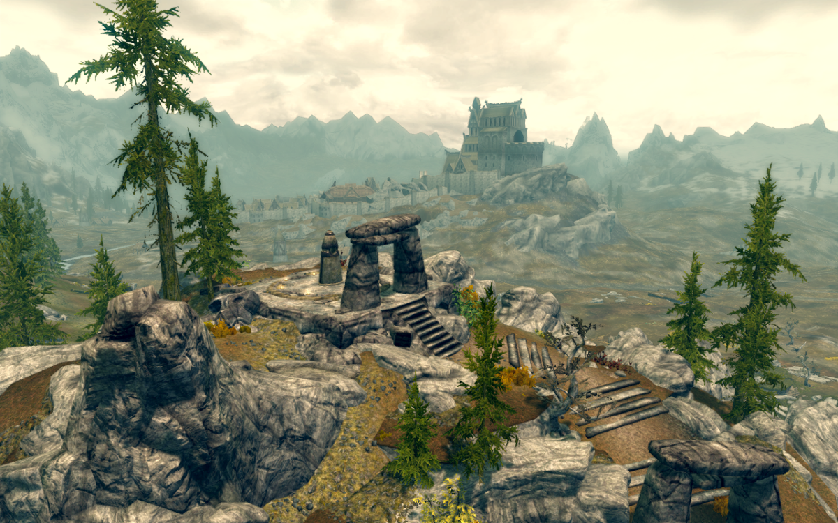 "The Ritual Stone - Standing Stone Primary Location - ""The Elder Scrolls V: Skyrim"""