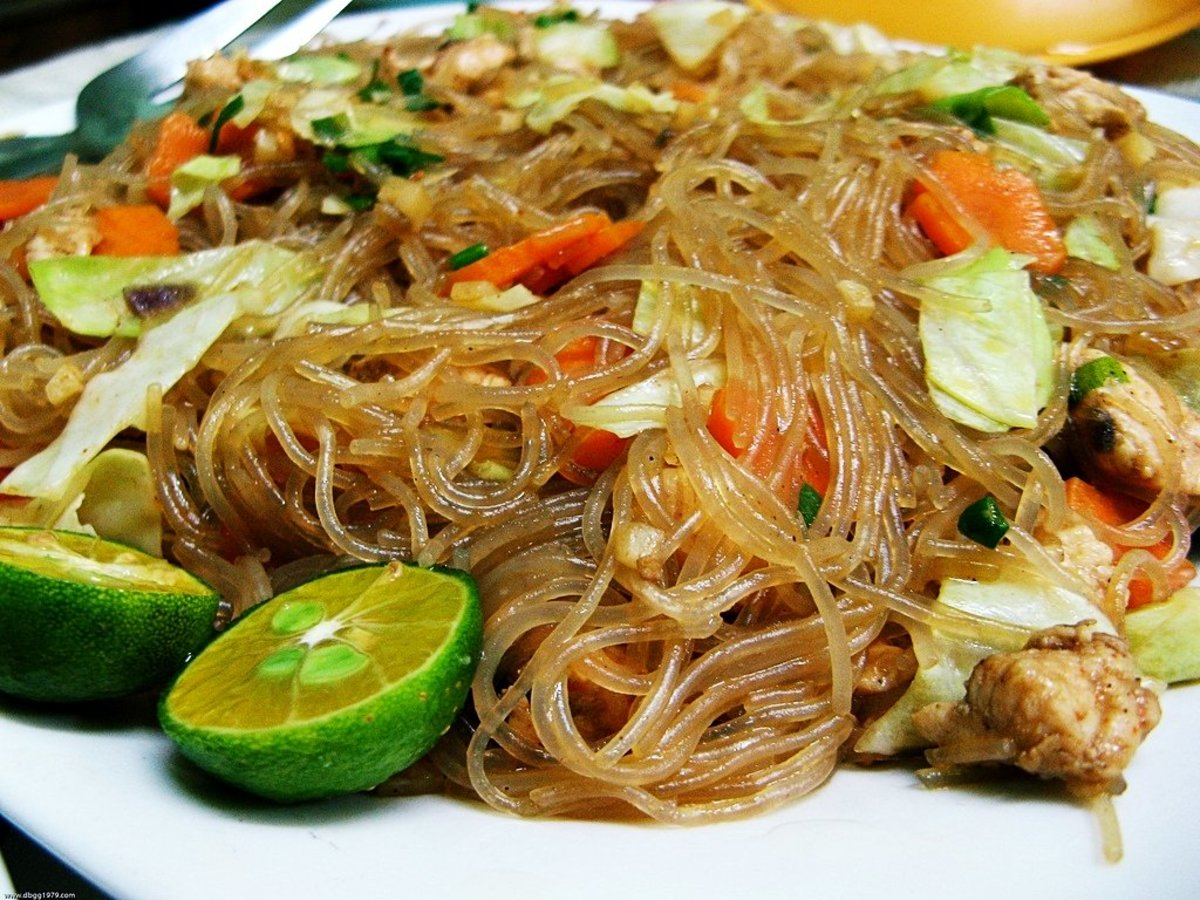 Recipe for pancit sotanghon the slippy and yummy for Ably asian cuisine