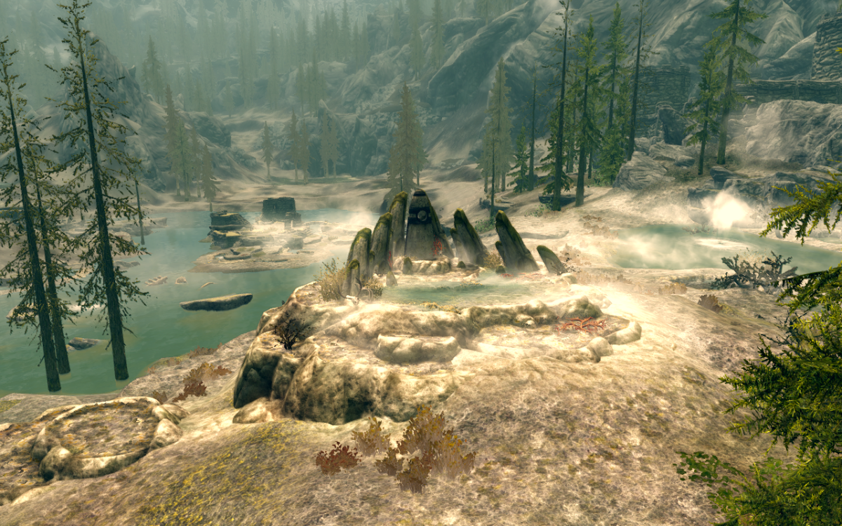 The Atronach Stone - Standing Stone Primary Location - The Elder Scrolls V: Skyrim