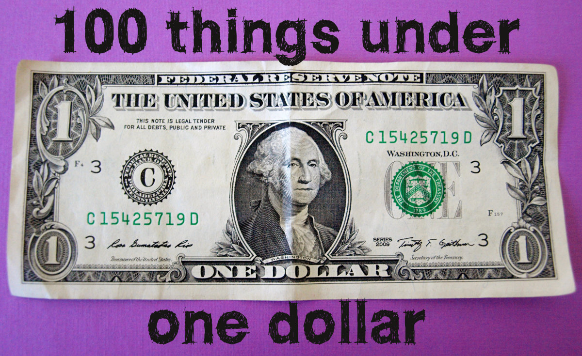 100 Great Things You Can Buy for a Dollar