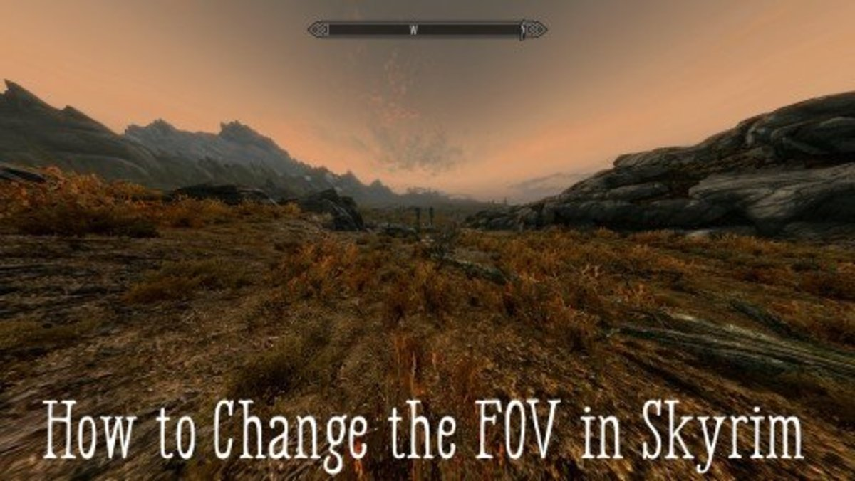 How to Change the FOV in Skyrim