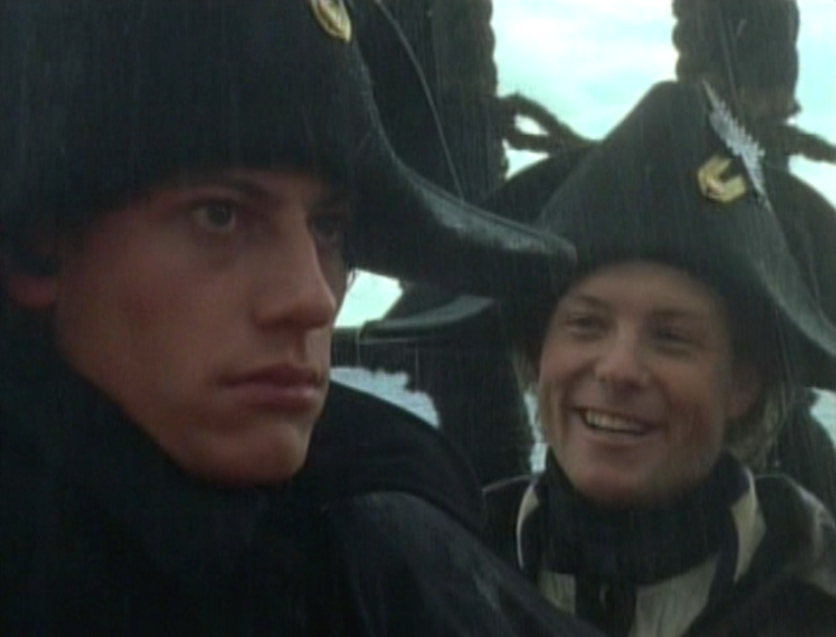 """Welcome to Purgatory."" - Mister Midshipman Kennedy  (First line spoken to Horatio Hornblower upon boarding the Justinian [A&E production])"