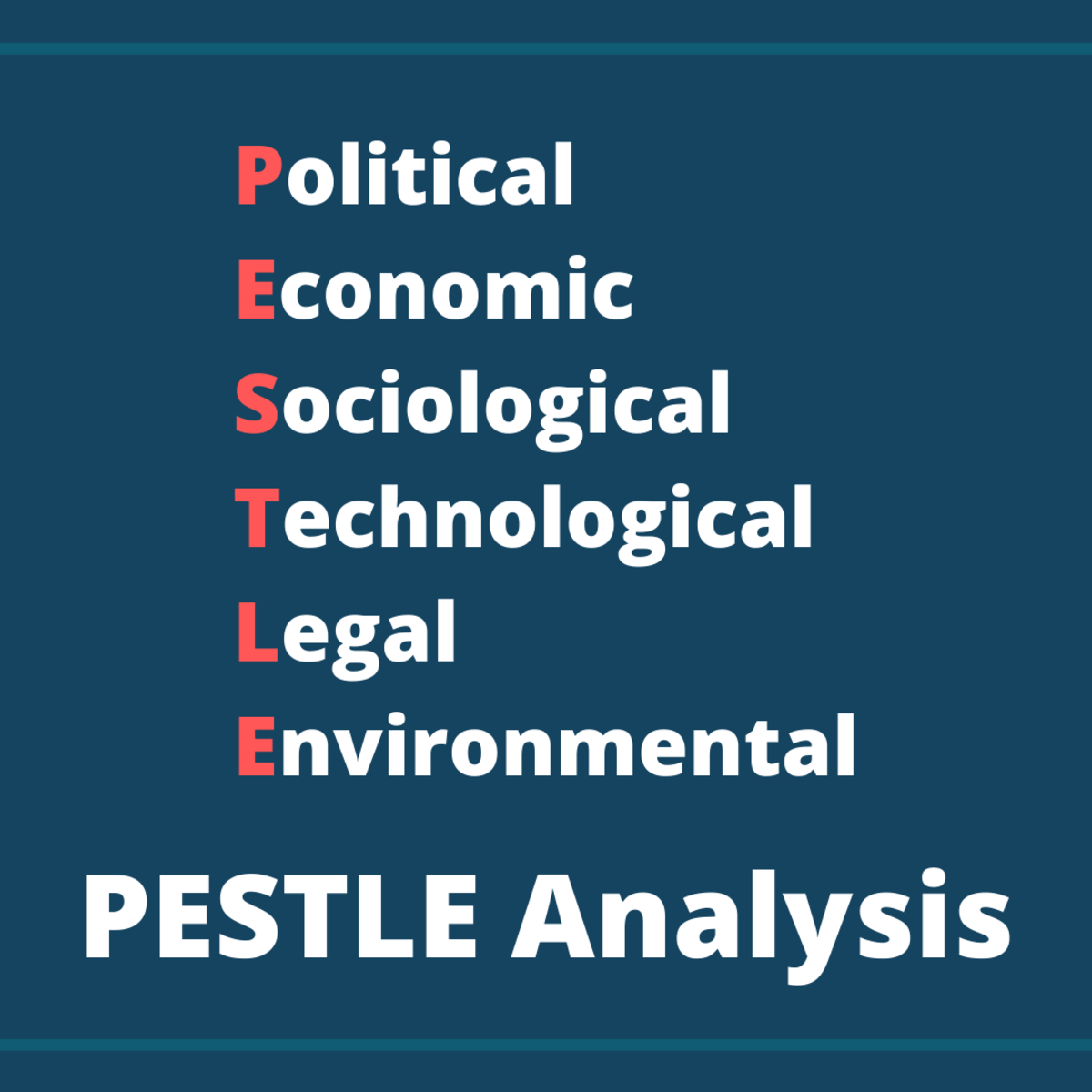 What Are the Driving Forces of  PESTLE Analysis?