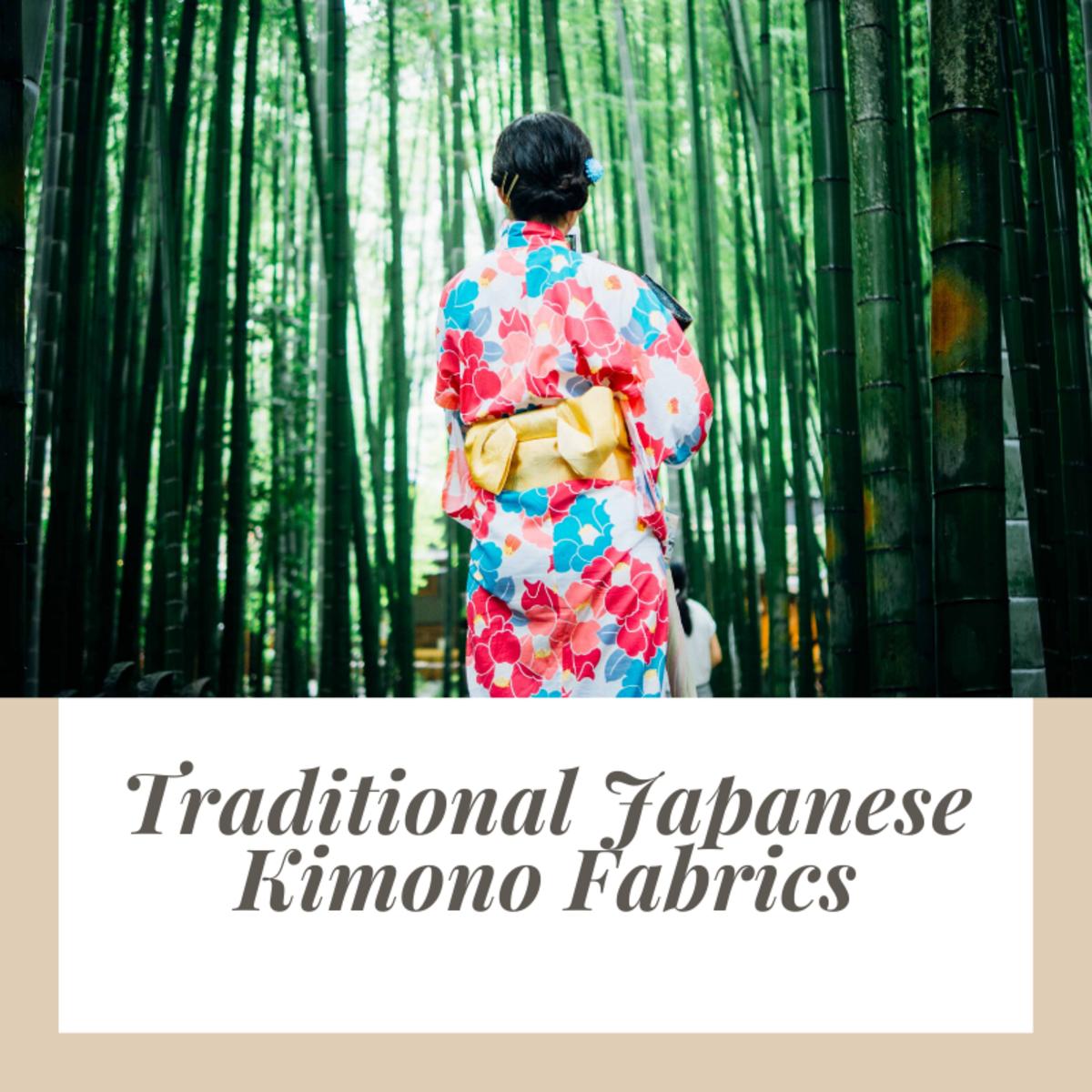 Traditional Japanese Kimono Fabrics