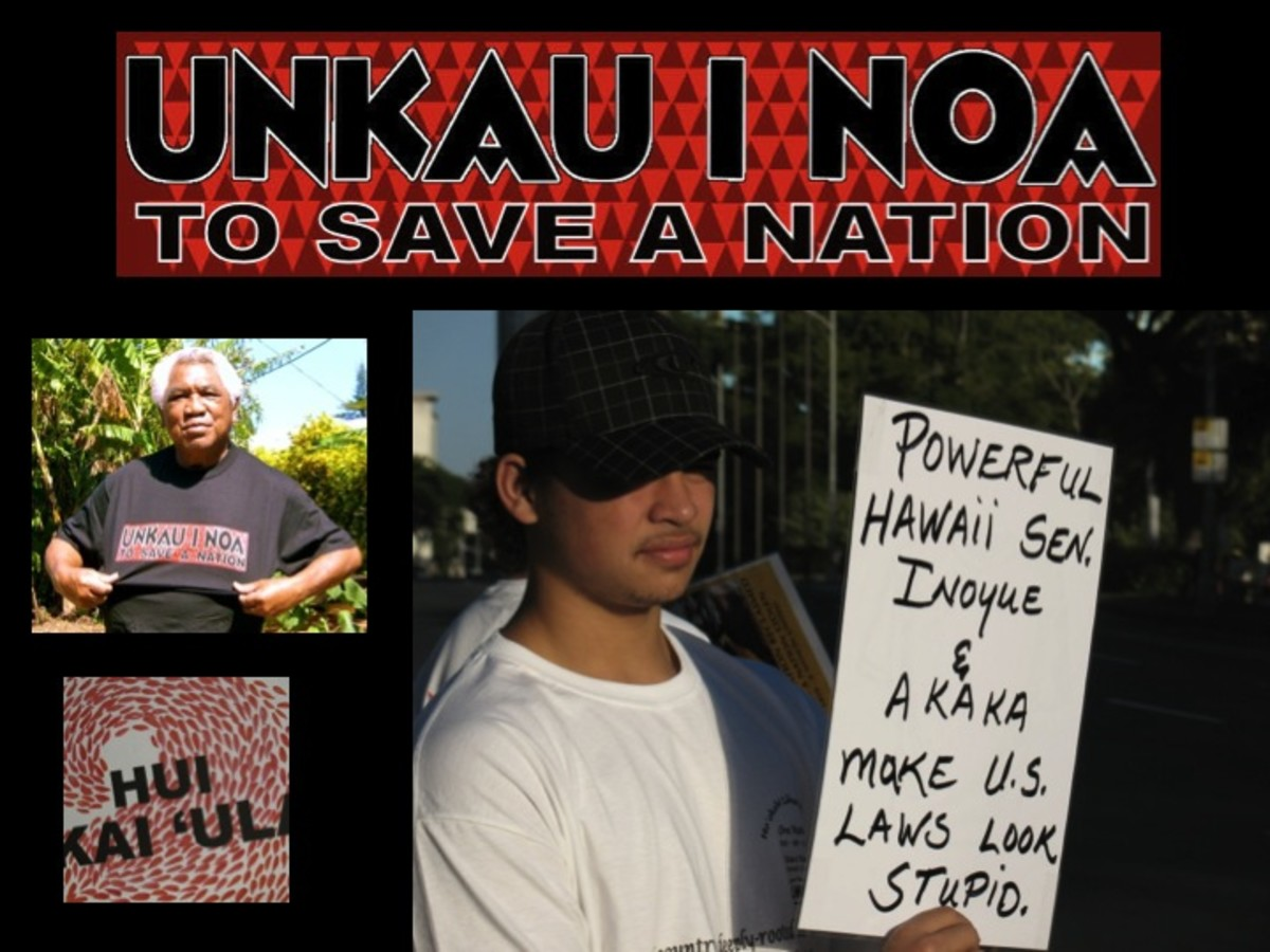 UNkau inoa movement is against Kau Inoa.