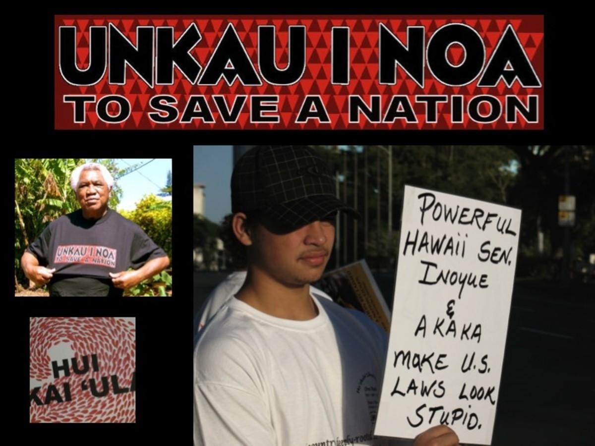 UNkau inoa movement is against Kau Inoa.