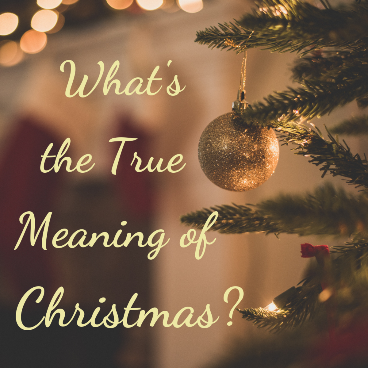 True Meaning of Christmas: Family Traditions, Giving, and Children
