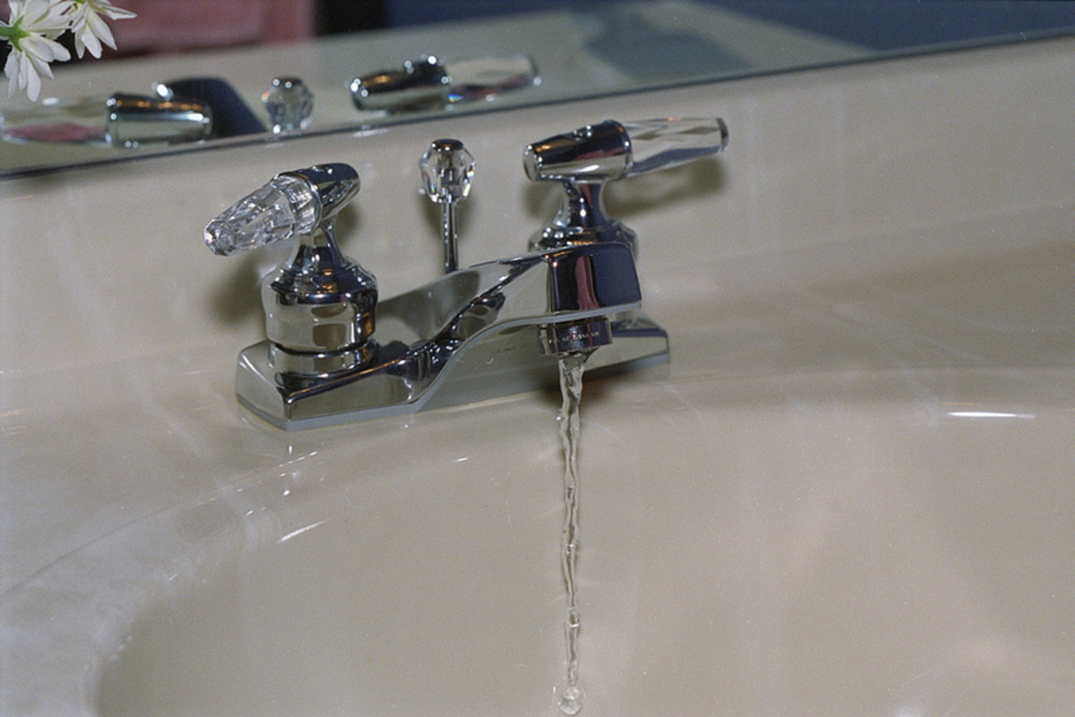 Low water pressure can occur because of an issue with the water delivery system or with the specific faucet.