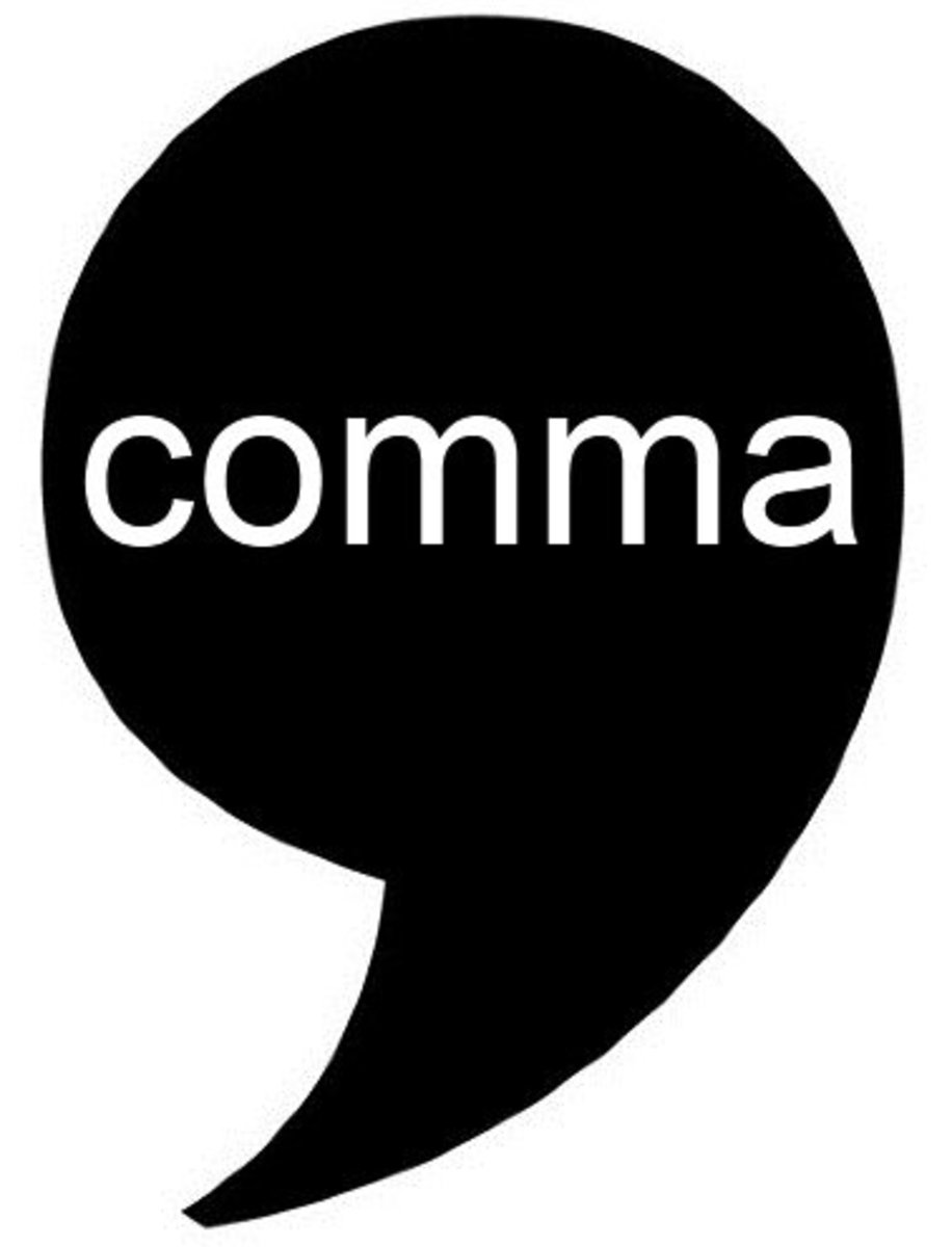 Writing Tips:  How to Use Commas