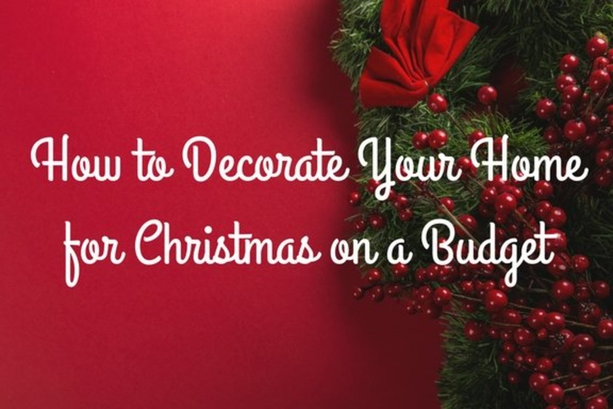 A Home For Christmas.18 Ideas To Decorate Your Home For Christmas On A Budget