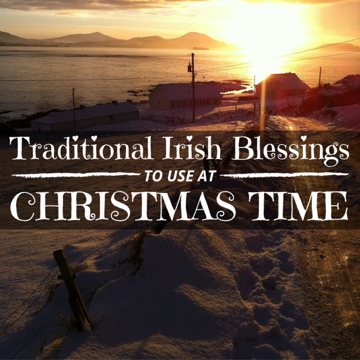 In Ireland, it is traditional to recite blessings to commemorate special events or important occasions. These blessings are perfect for Christmas.