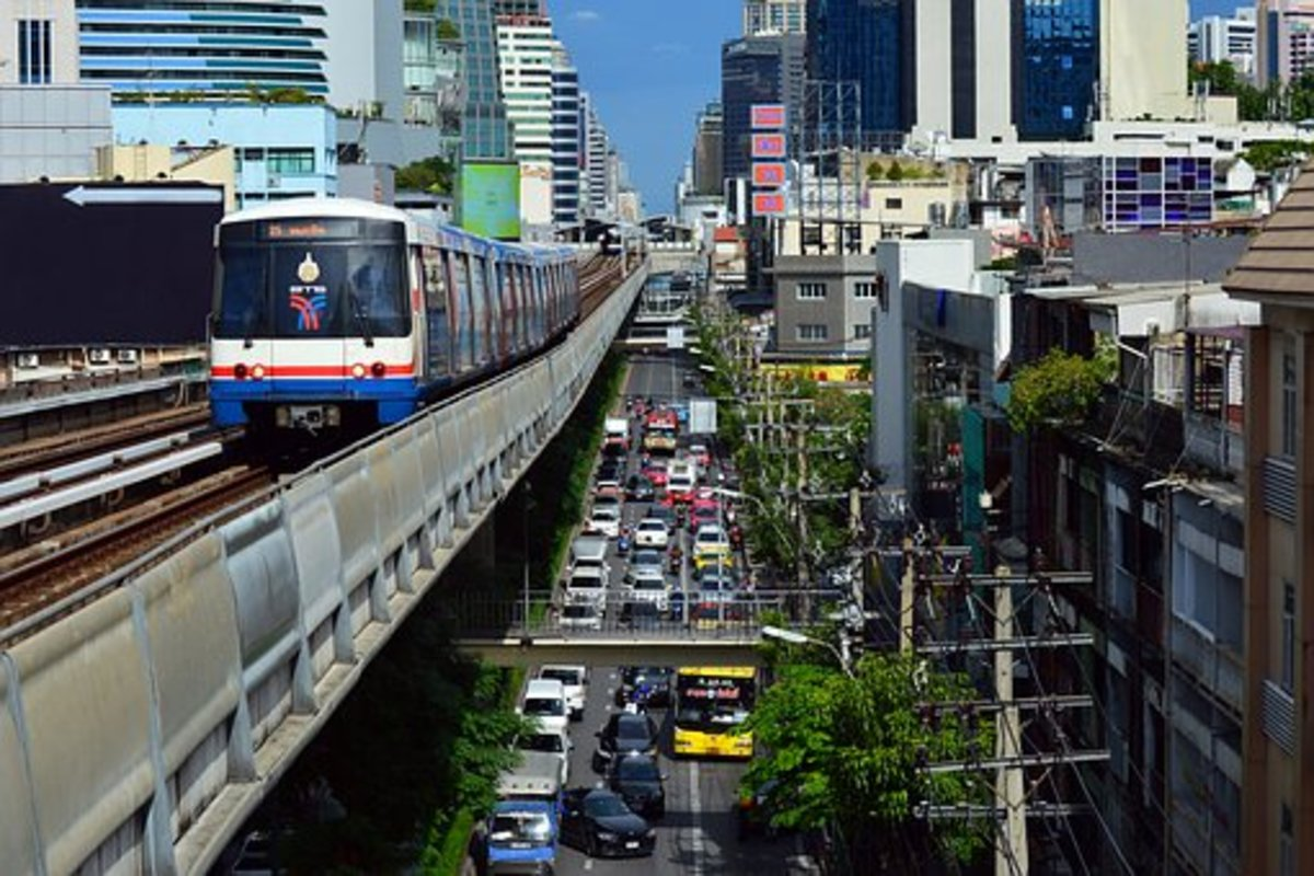 BTS Bangkok Skytrain