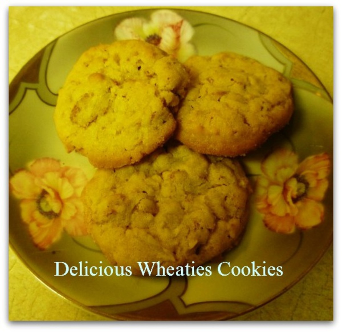 Easy to Make Homemade Wheaties Cookie Recipe with Step by Step Photos