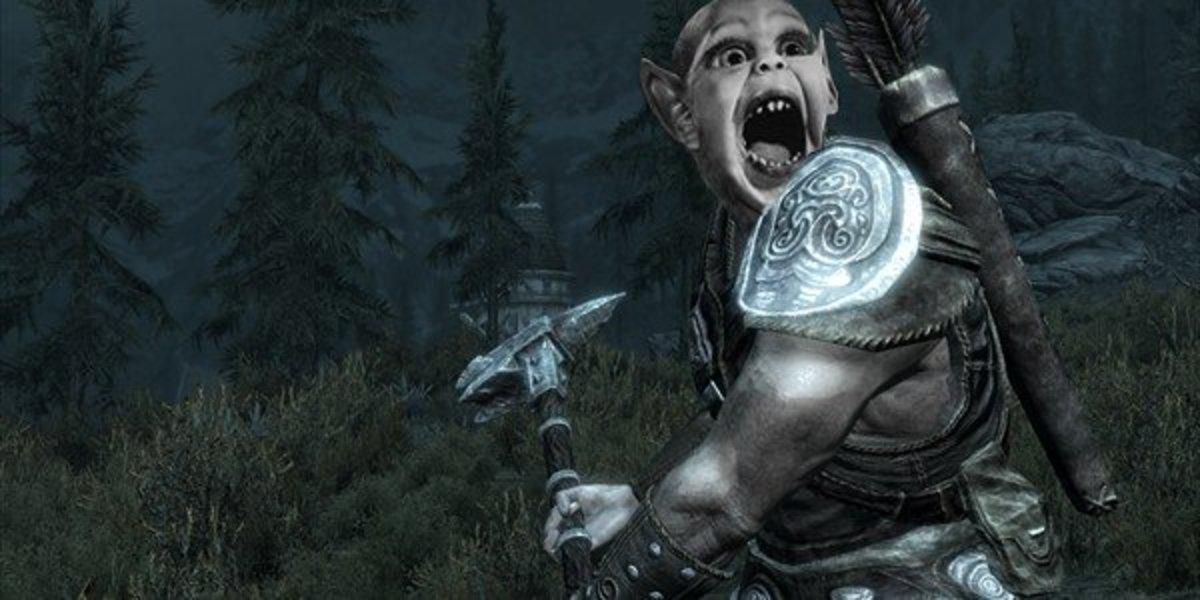 """Elder Scrolls V: Skyrim"" - Werewolf or Vampire?"