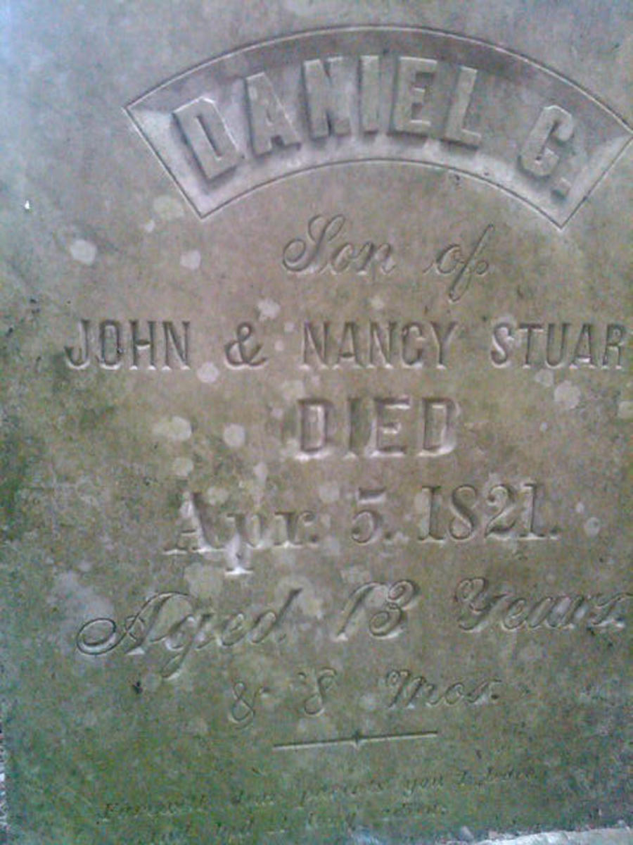 Headstone of a Son Dansville, New York