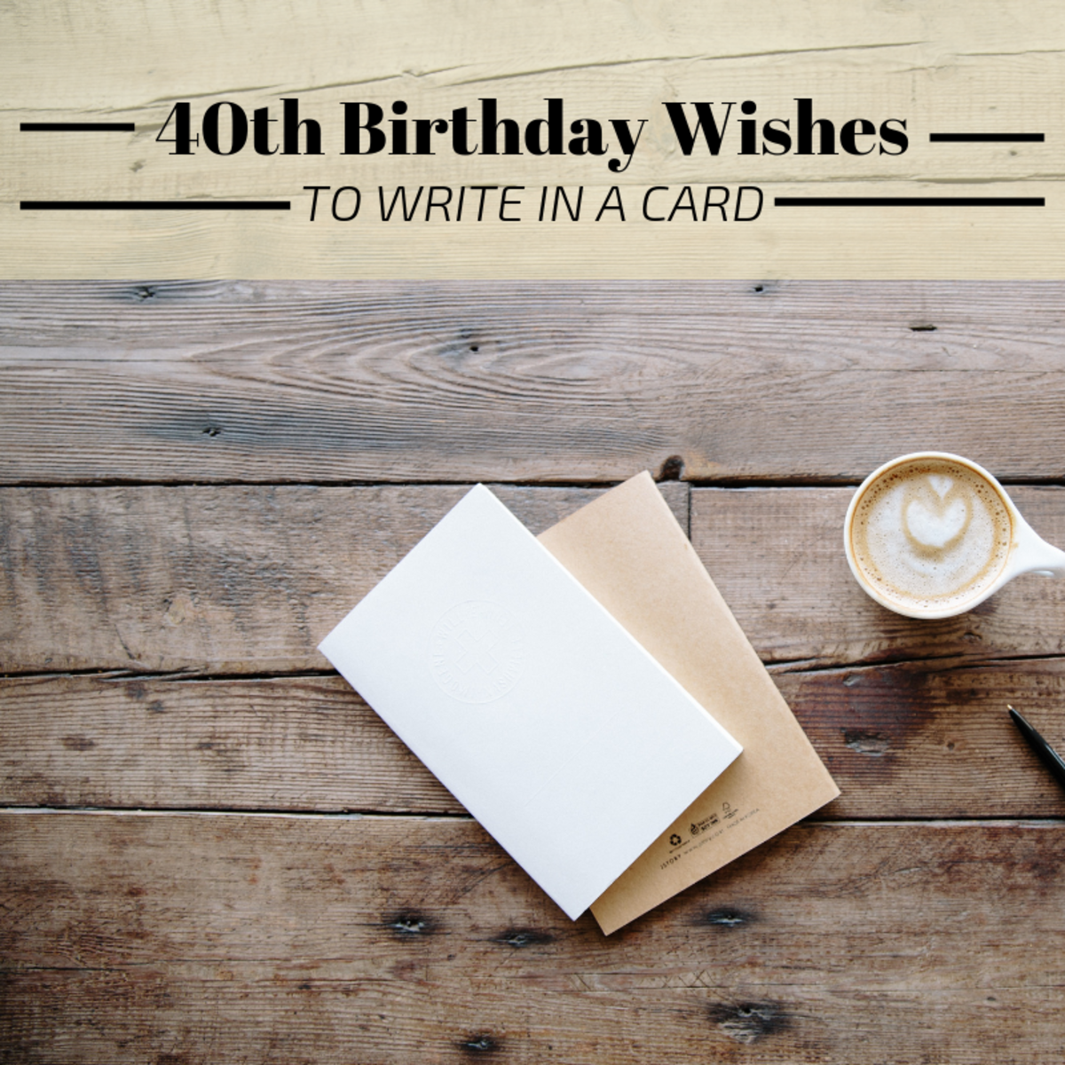 40th Birthday Wishes, Messages, and Poems to Write in a Card