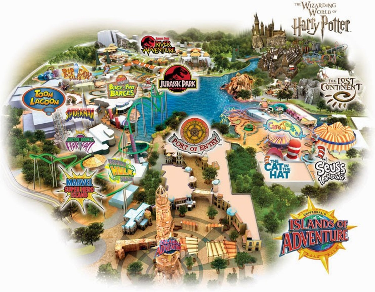 Universal Orlando Florida: What to Do With Younger Kids