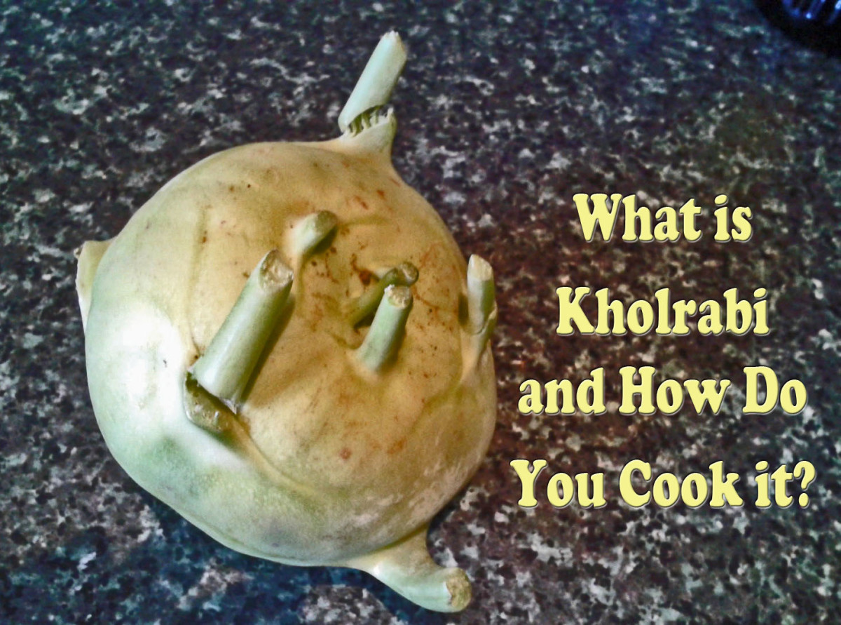 What Is Kohlrabi? All About It - How to Grow Kohlrabi and How to Prepare Kohlrabi