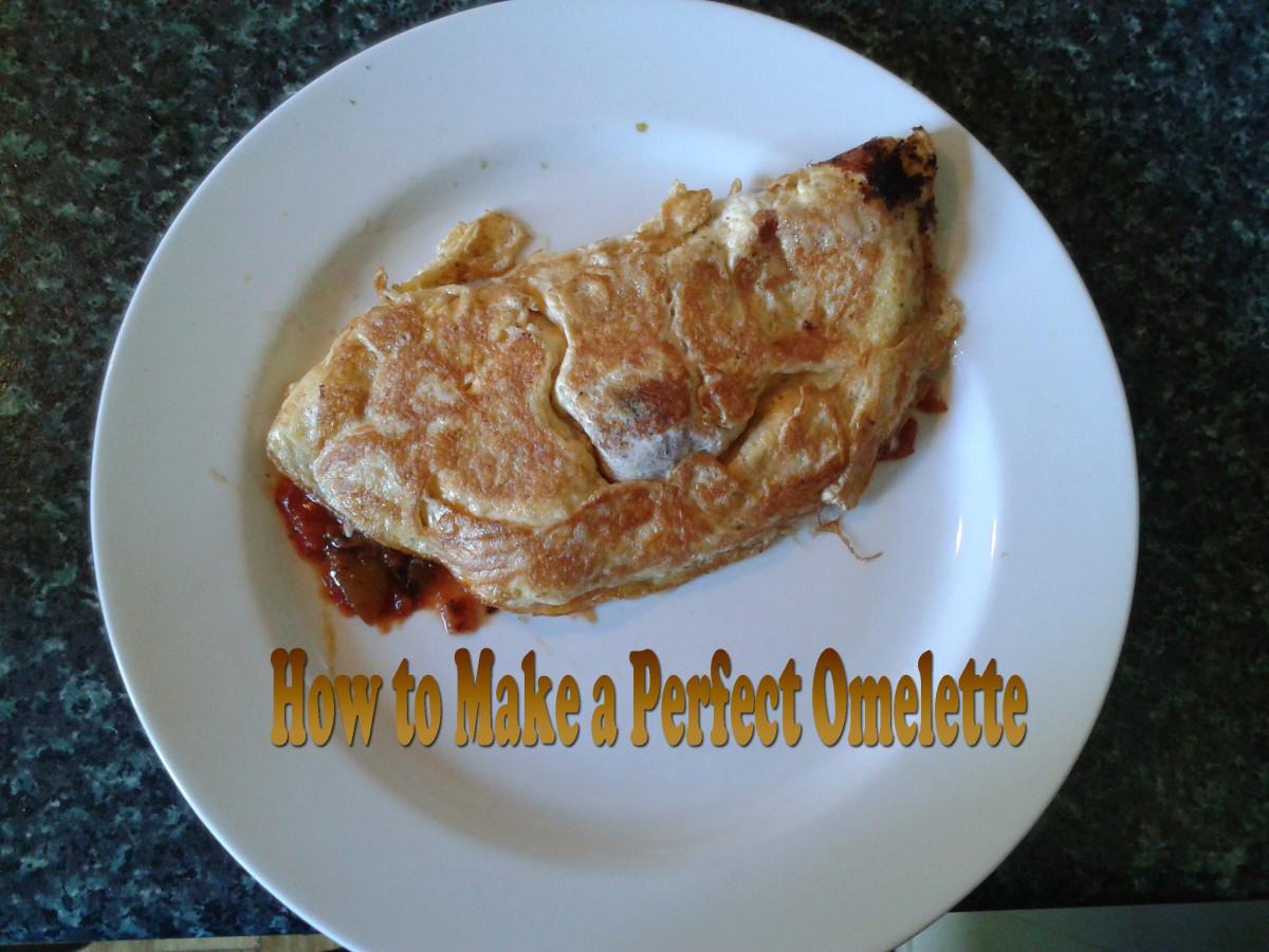Omelette Folded Over