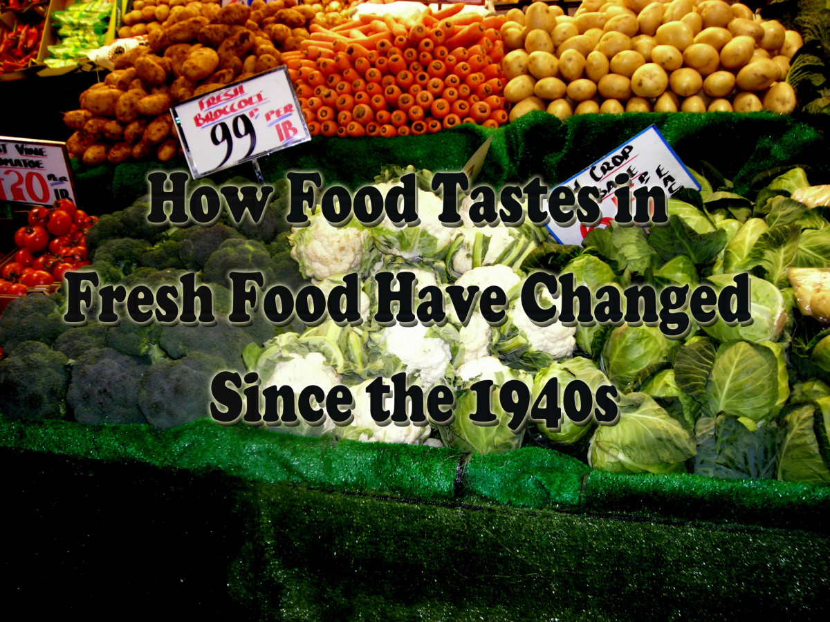 How Fresh Food Trends Since the 1940s Have Affected Tastes