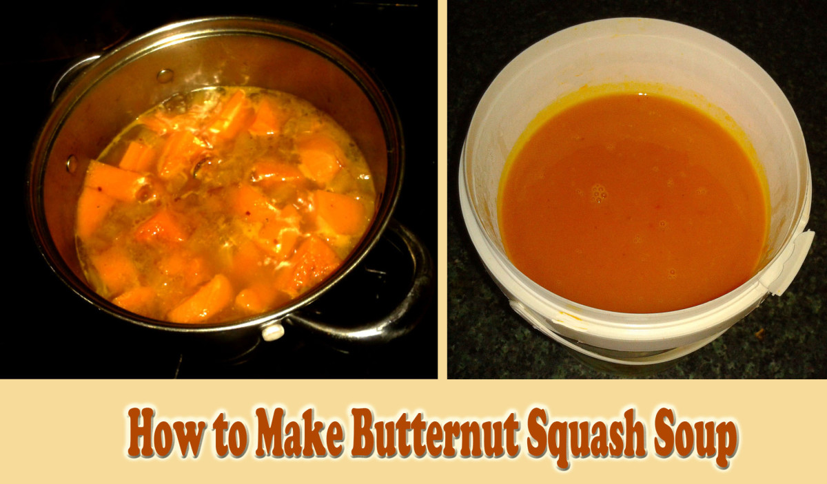 How to Make a Quick and Easy Butternut Squash Soup
