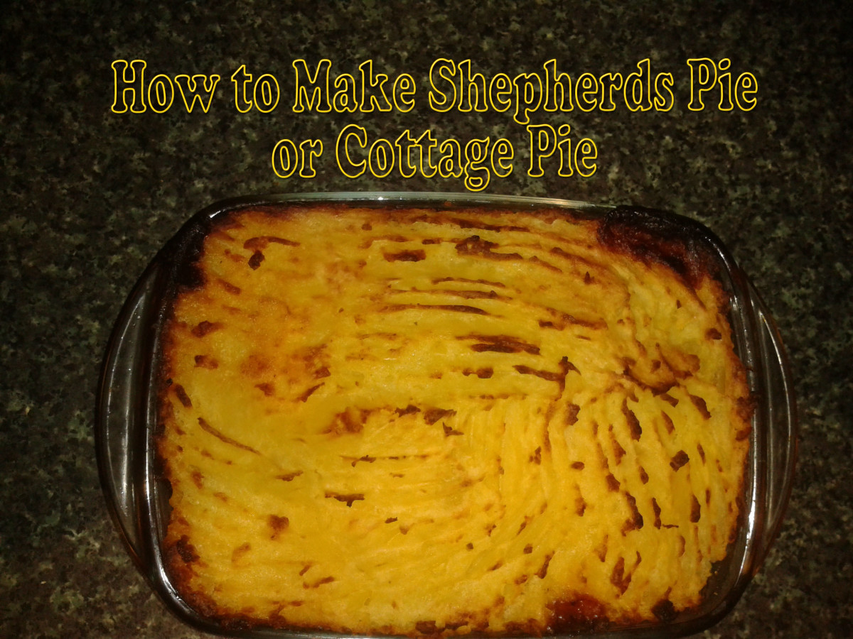 How to Make Shepherds Pie or Cottage Pie