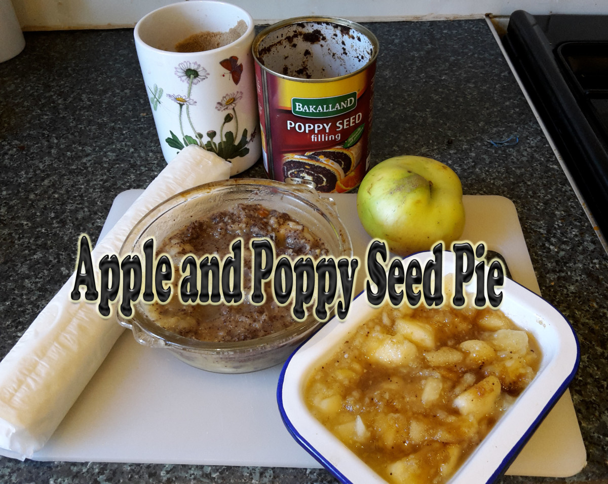 Easy Apple and Poppy Seed Pie Recipe