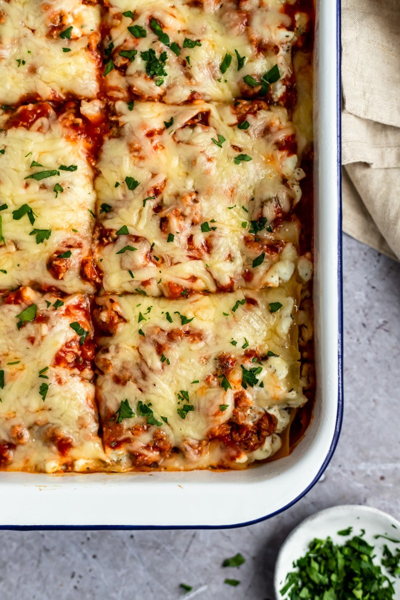 I've been making this lasagna for years. It's the best!