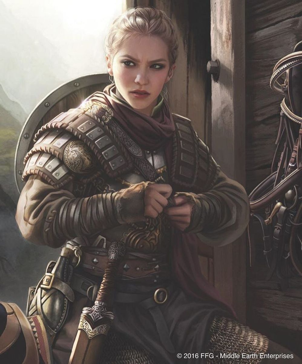 """The Elder Scrolls V: Skyrim"" (2011): The Shield Maiden Build"