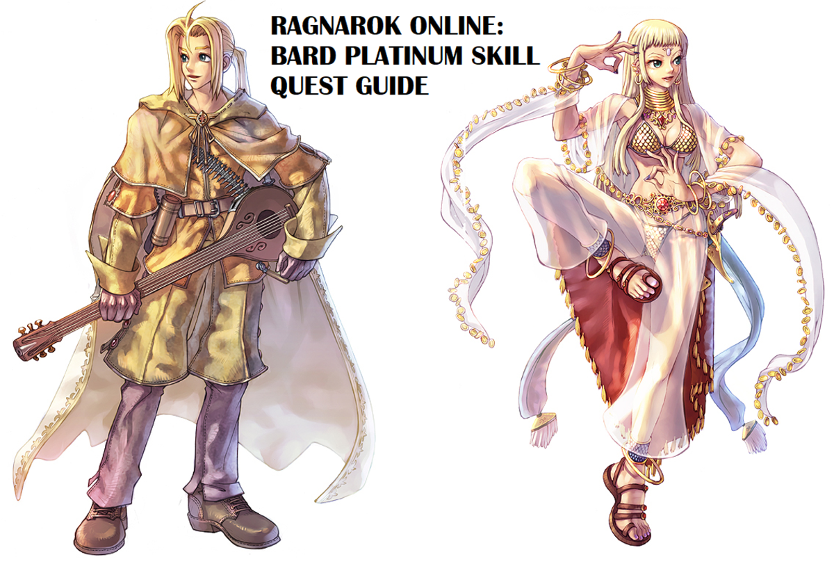 "This quest guide will help you earn the Bard platinum skill in ""Ragnarok Online."""