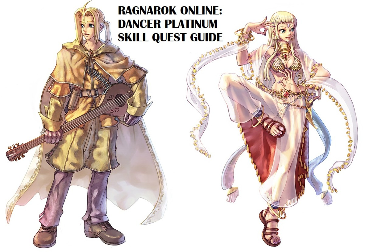Ragnarok Online Dancer Platinum Skill Quest Guide