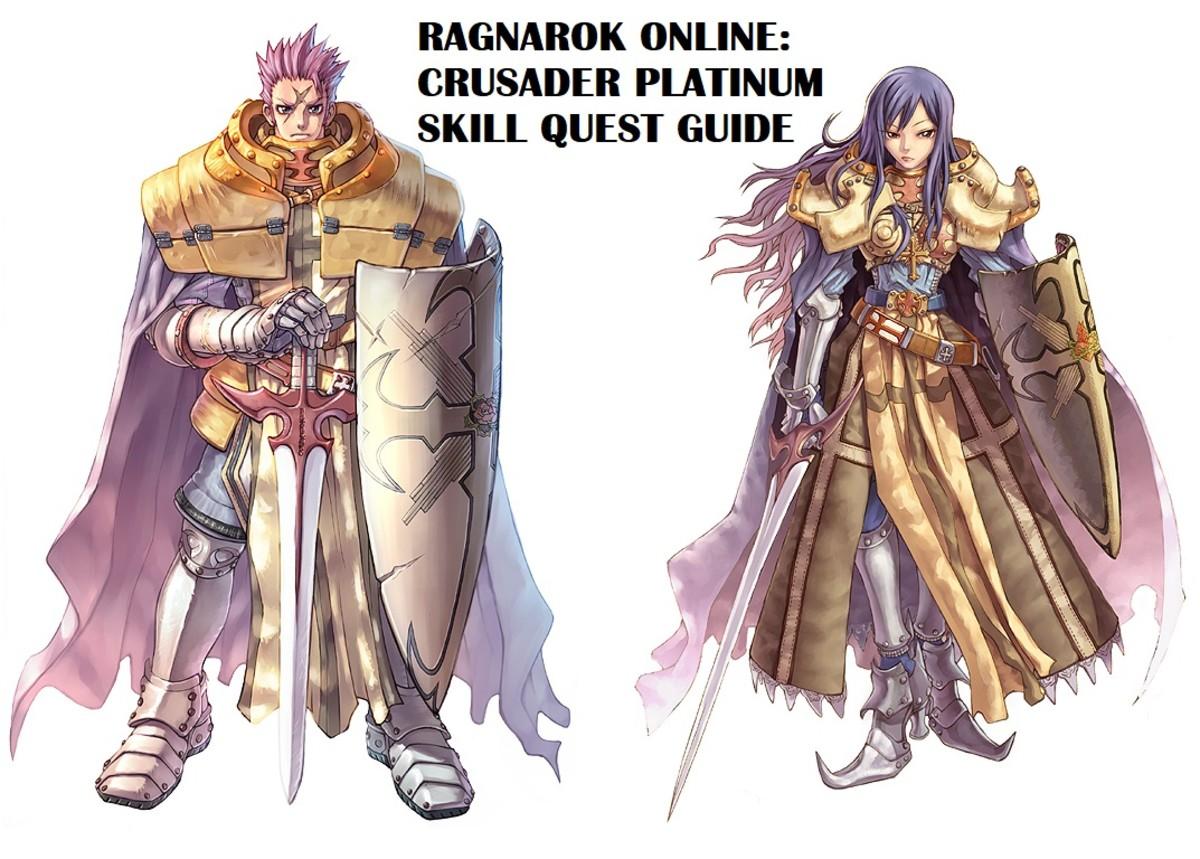 Ragnarok Online Crusader Platinum Skill Quest Guide