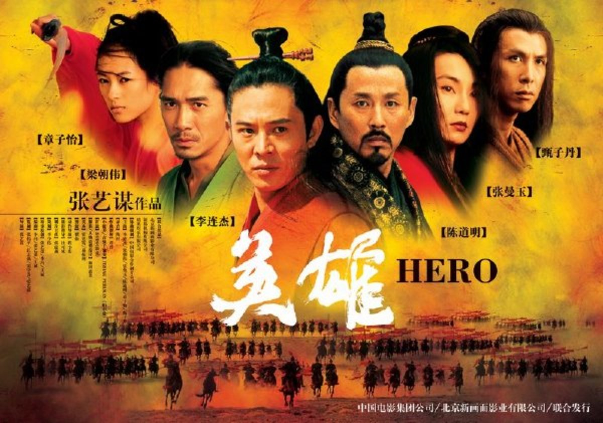 Hero is among the most lavish and visually stunning Chinese historical movies ever made.