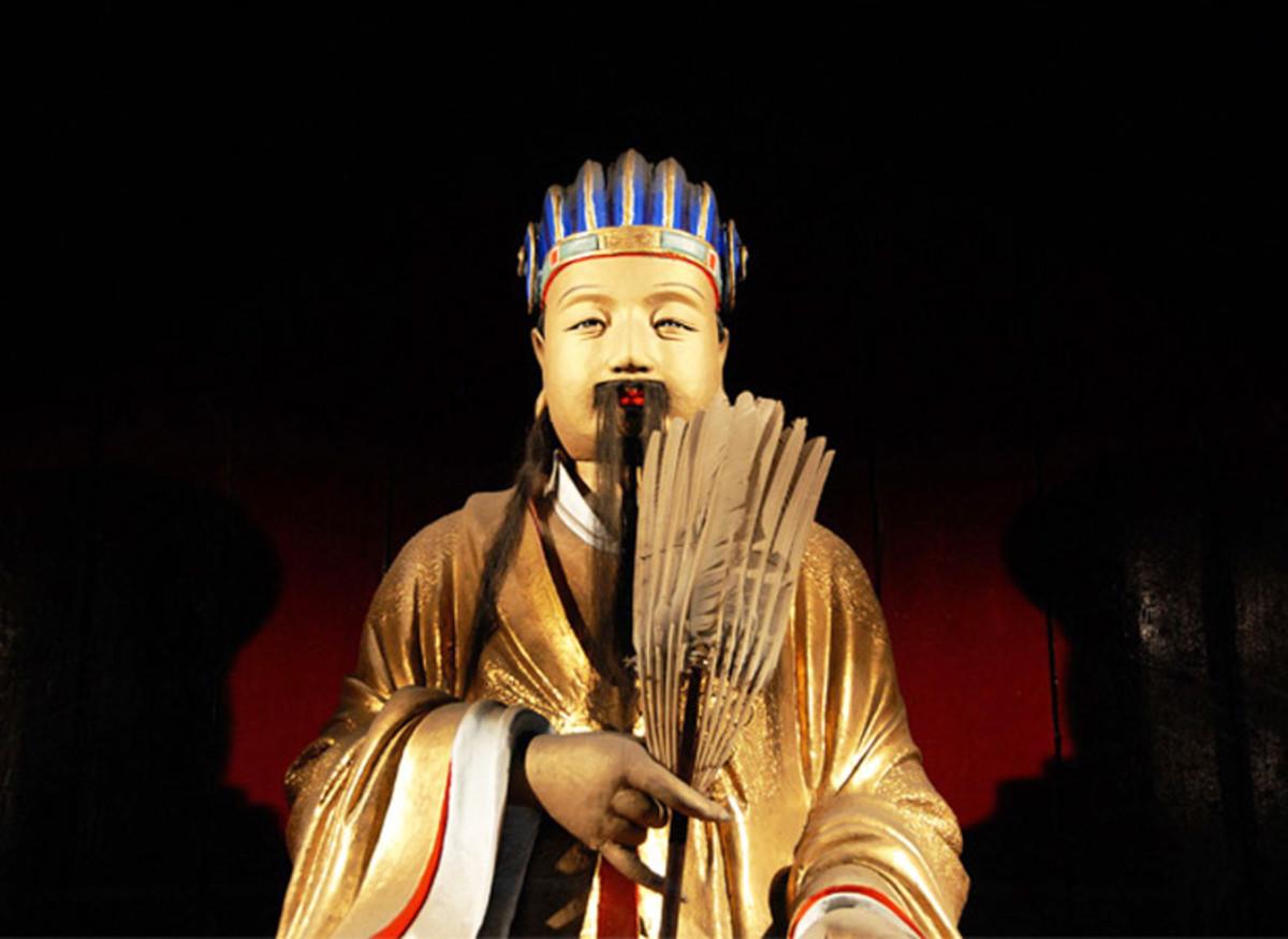 Zhuge Liang. The Chinese hero symbolizing intelligence and faithfulness.