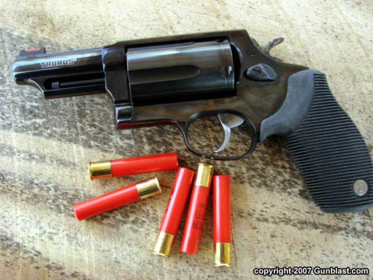 The Taurus Judge, the Ultimate Close Range Public Defender